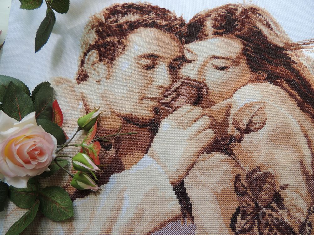 Влюбленные алиса вышивка схема