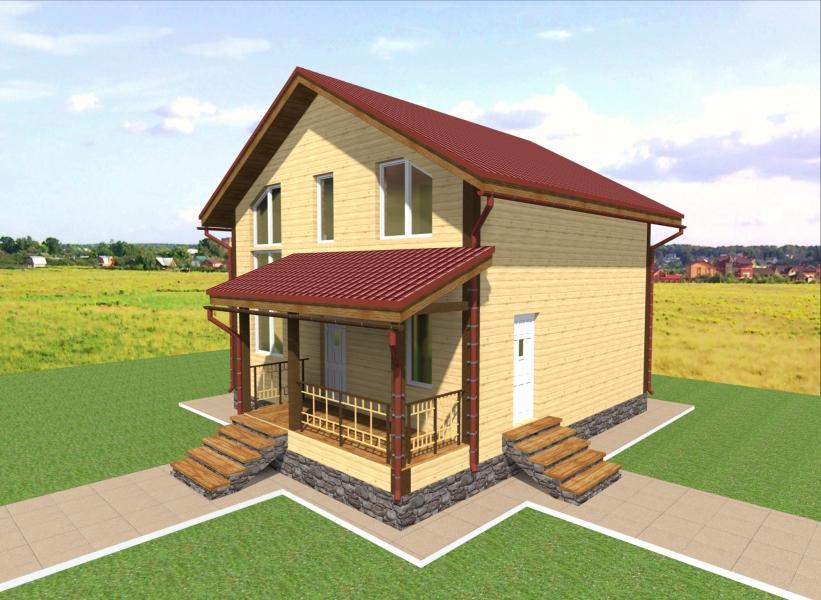 Современные каркасные дома своими руками