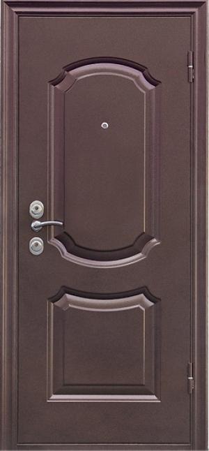 двери металлические классика